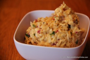 Spicy Homemade Cole Slaw