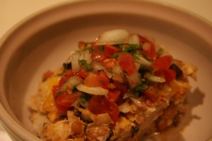 Bowl of Mexican Casserole
