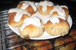 Homemade Hot Cross Buns for Easter