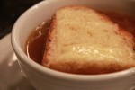 Homemade French Onion Soup–just in time for New Year's Eve