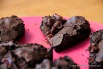 Valentine's Treats: Heart-shaped Fudgy Brownies
