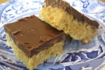 Crispy Peanut Butter Dream Bars